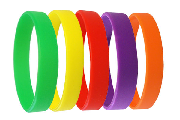 12mm silicone wristbands