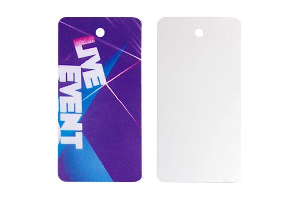 Plastic ID tags